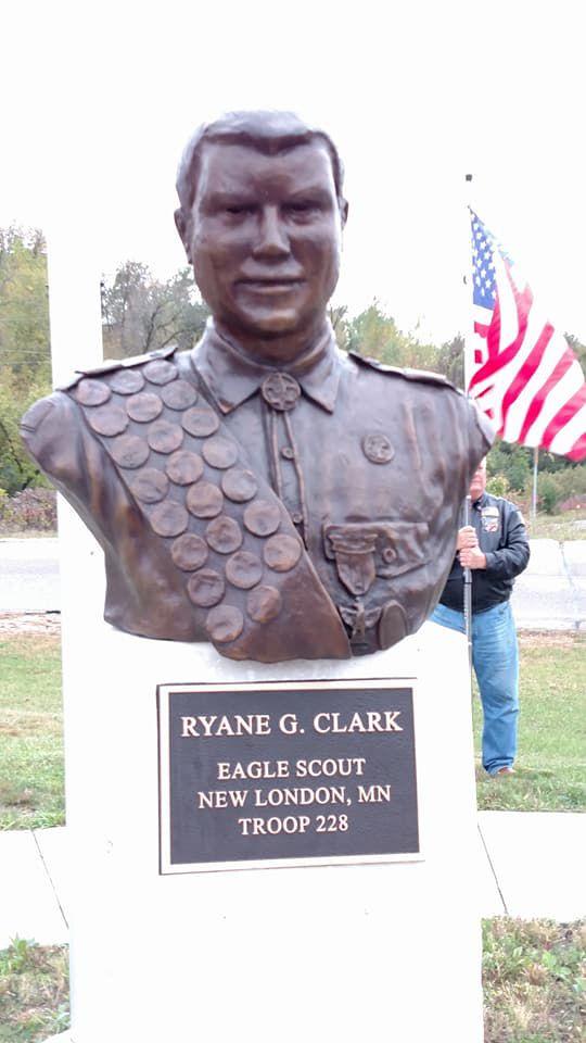Ryane Clark bust