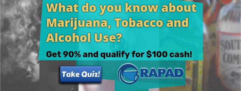 Win $100 with RAPAD Coalition