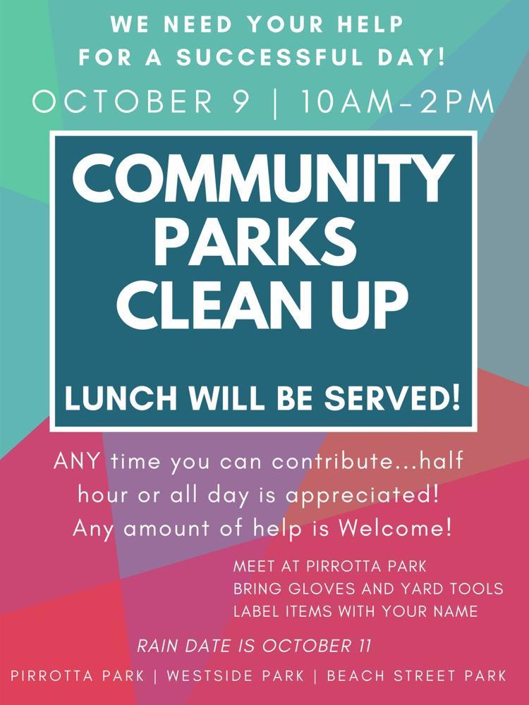 Community Parks Clean Up