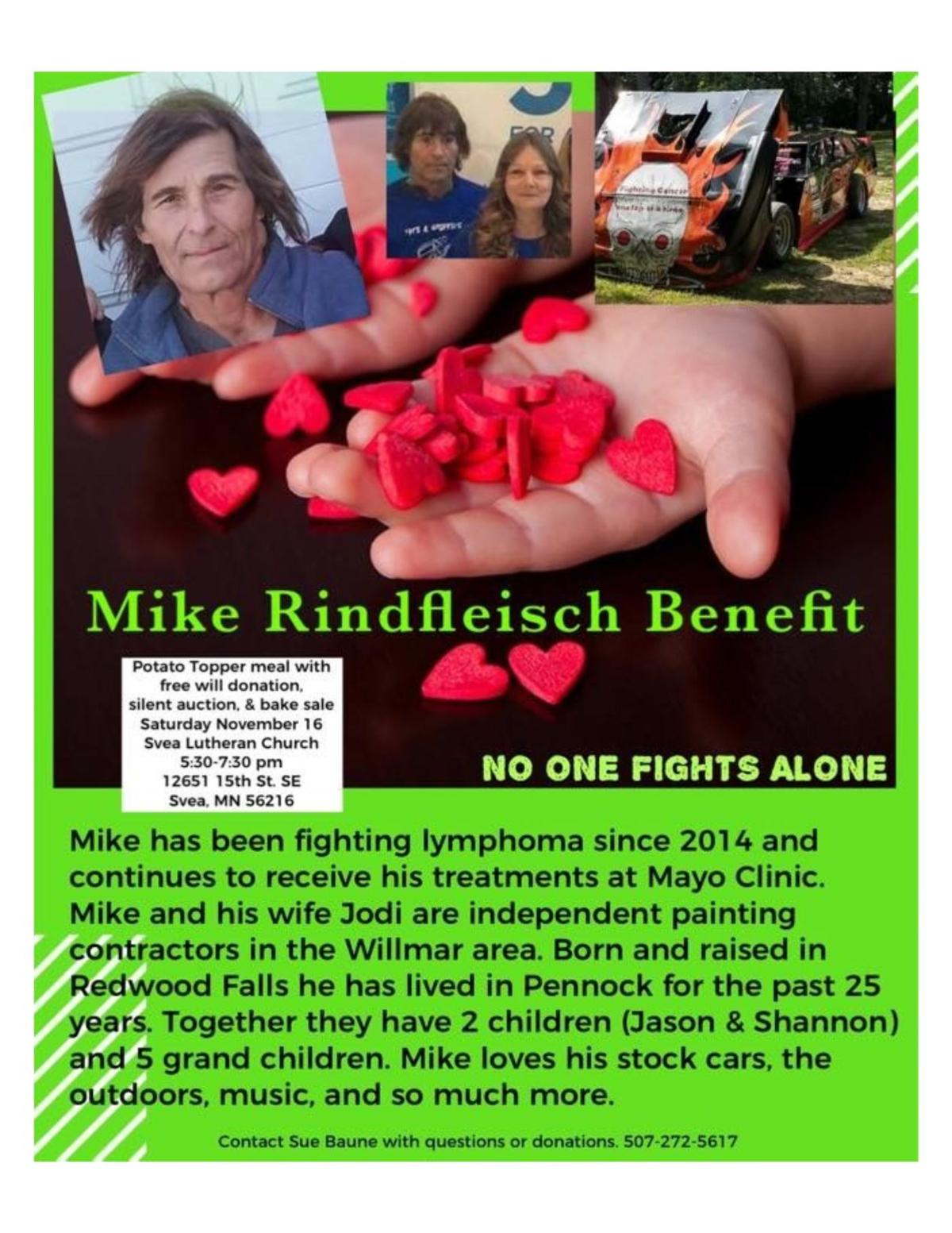 Mike Rindfleisch Benefit