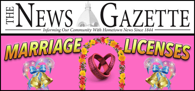 Marriage Licenses Issued | News | winchesternewsgazette com