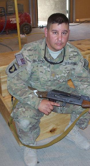 LTC DeLucio with 159th Combat Aviation Brigade in Kandahar, AF 2011.jpg