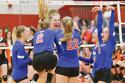 Indians fight back to edge Ansonia in five sets | News