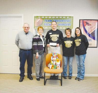 CrossRoads Financial Credit Union 'tackles' hunger' in