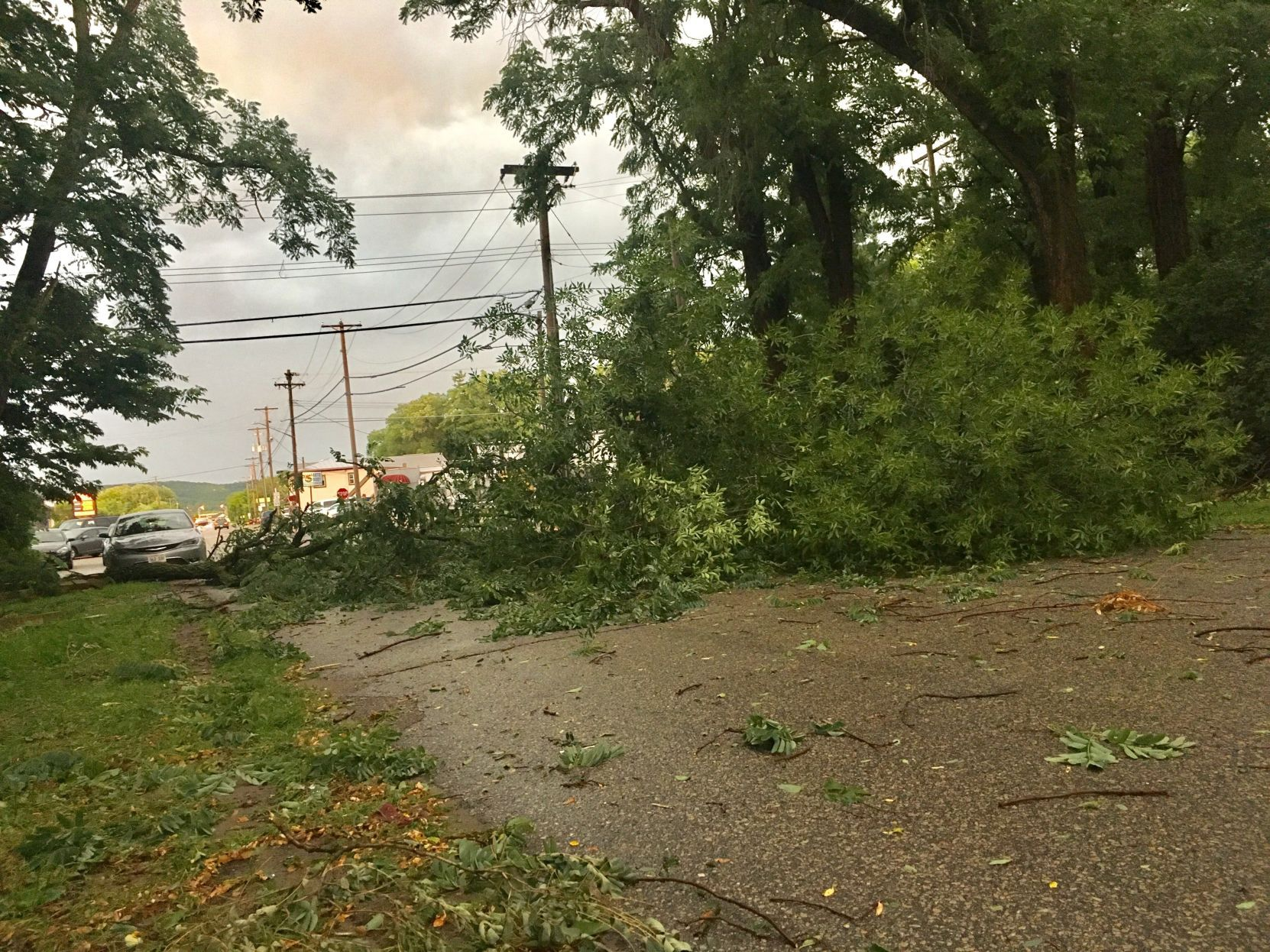 Powerful storms in cause damage, flooding in Midwest