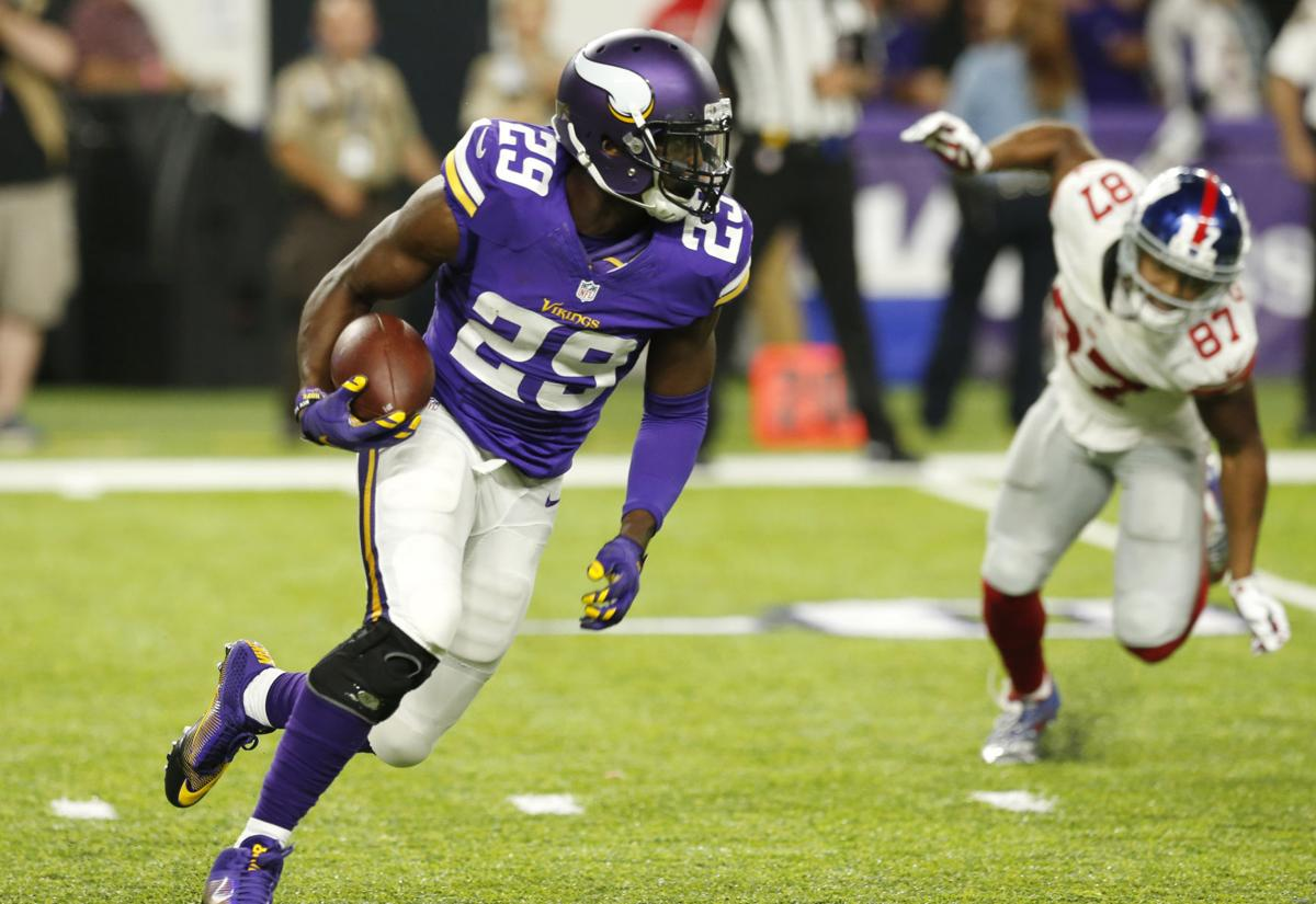 Vikings CB Xavier Rhodes eager to serve as mentor to rookies