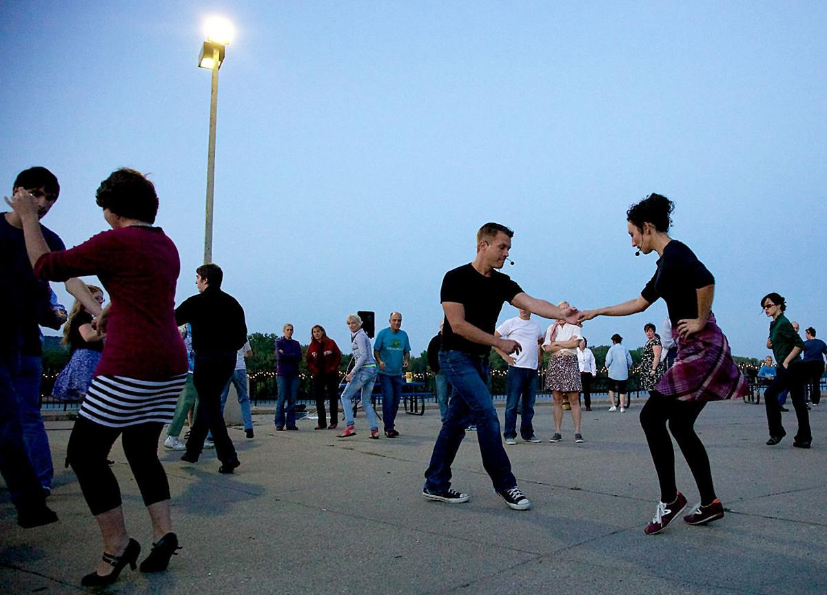 Outdoor dancing in Winona ends season with Latin at the Levee