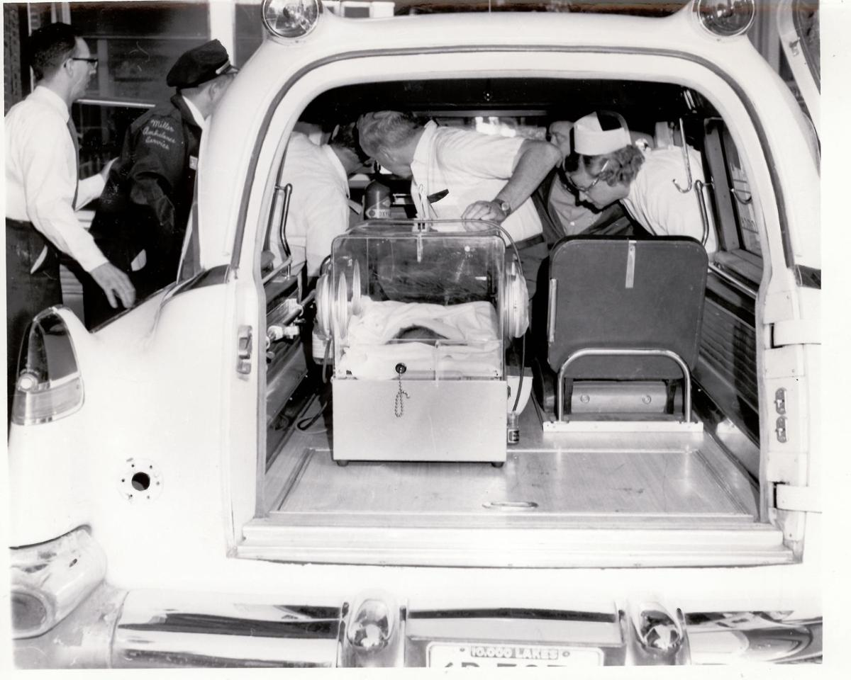 Moving day - Infants transported