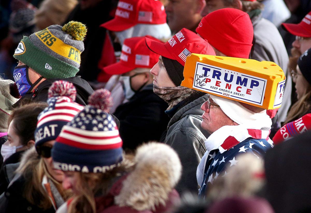 Trump rallies at La Crosse Fairgrounds Speedway