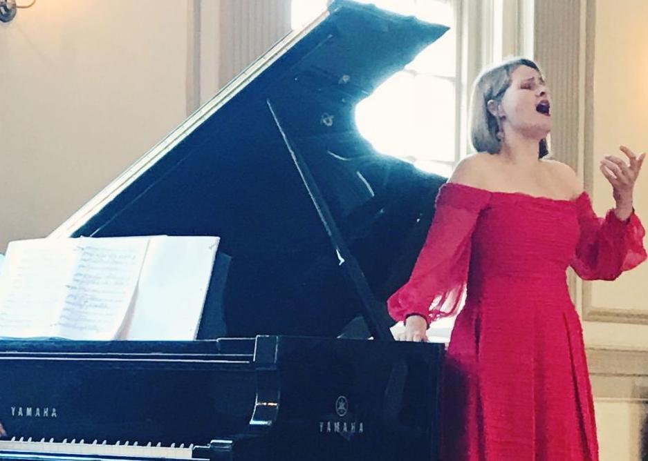 Amanda Blue recital