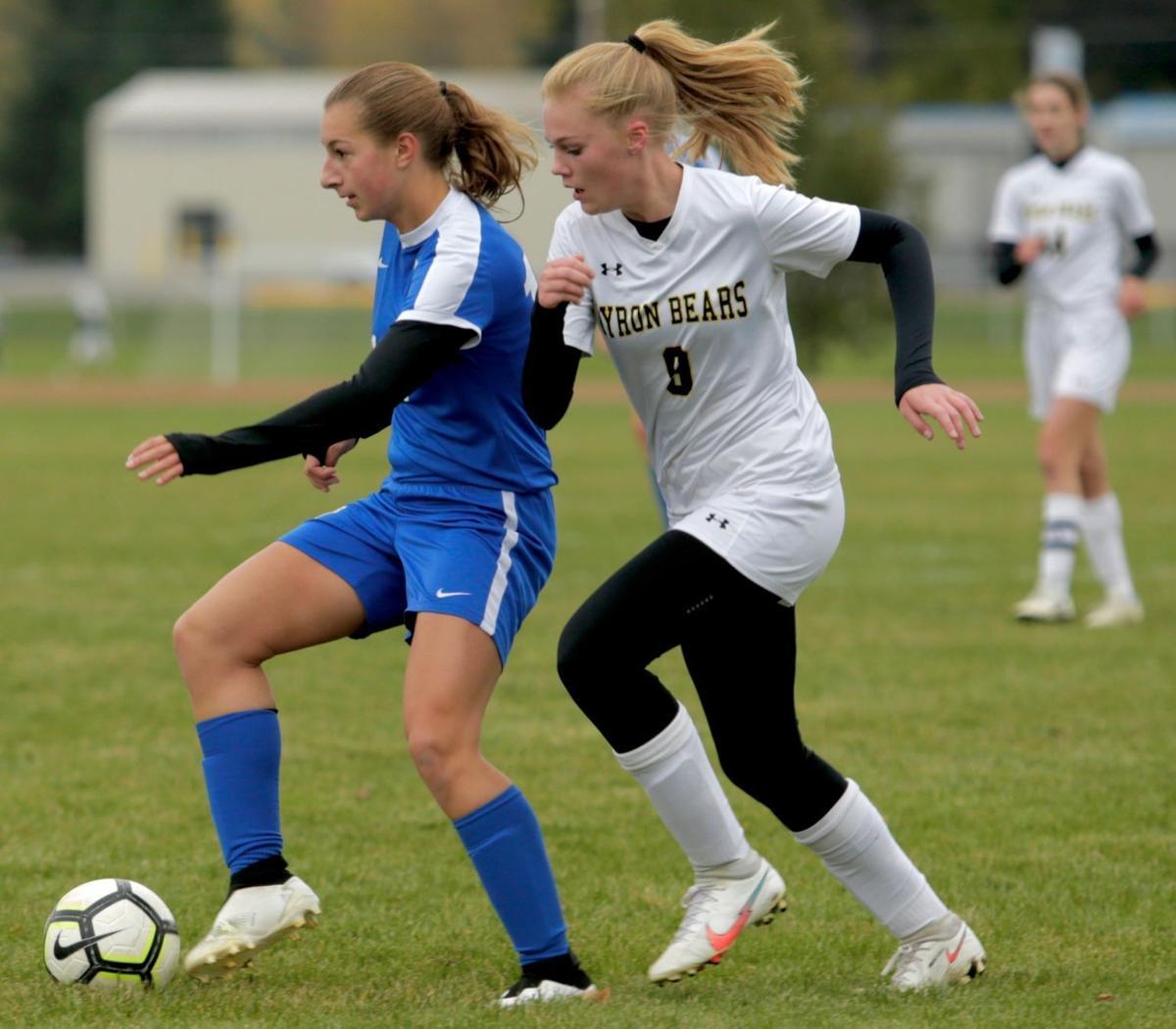 Photos: Cotter girls soccer vs Byron