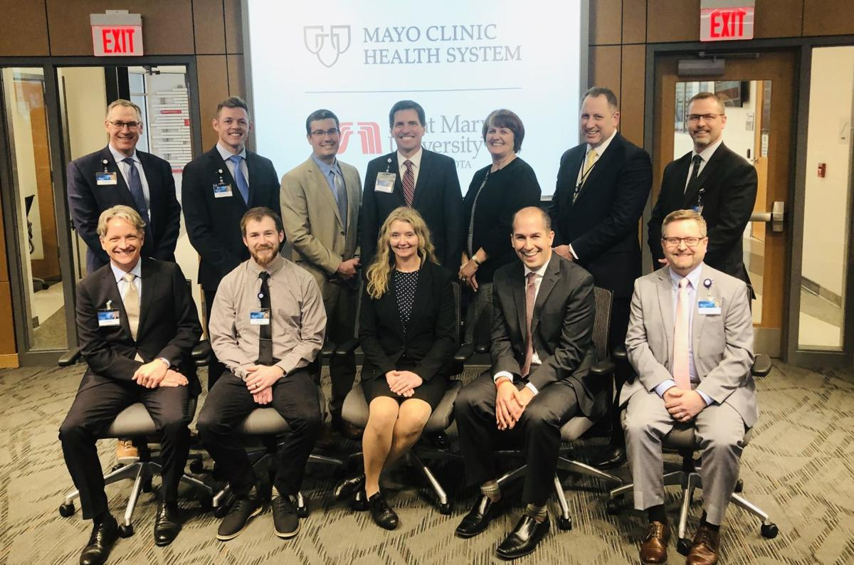 Mayo Clinic health team