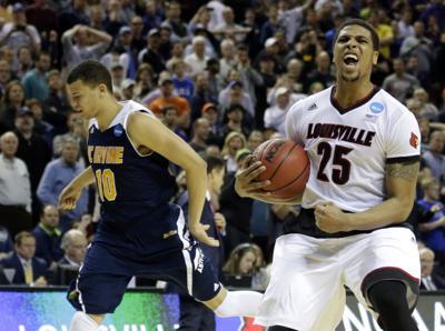 NCAA TOURNAMENT ROUNDUP: Louisville survives UC Irvine