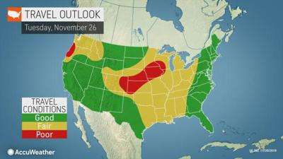 Forecast: Big snowstorm could hit Wisconsin just before Thanksgiving