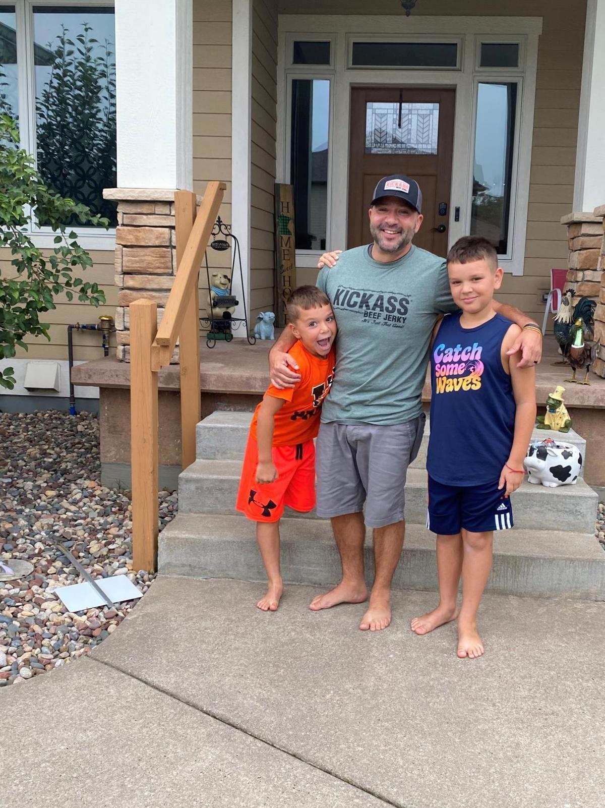 Jeremy Littel and children