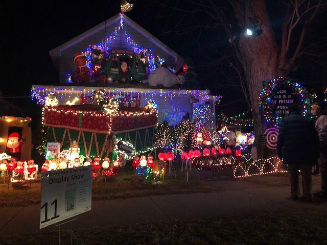 Christmas Lights in Winona