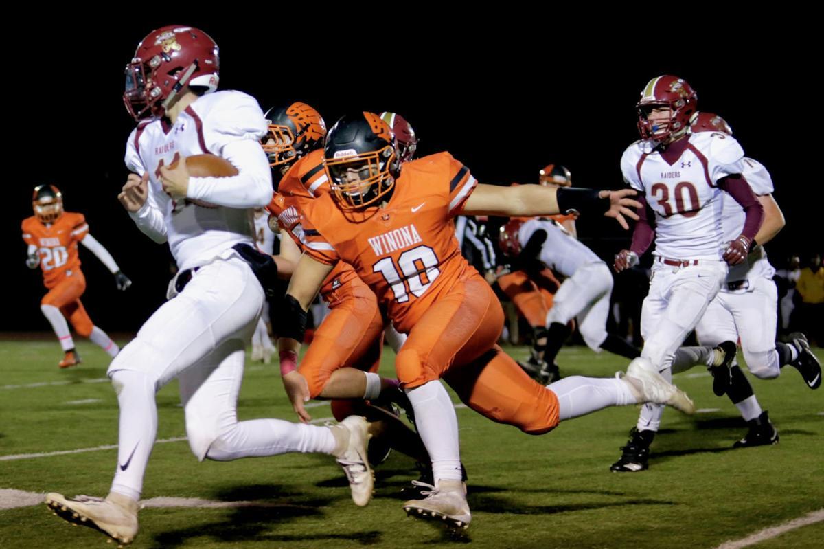 Winona Senior High School Football vs Northfield