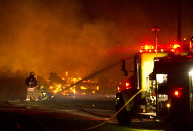 Barn outside Winona burns; no one injured