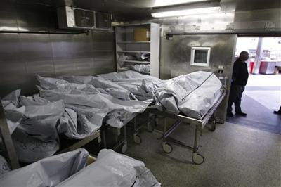 Unclaimed corpses push up urban morgue body counts
