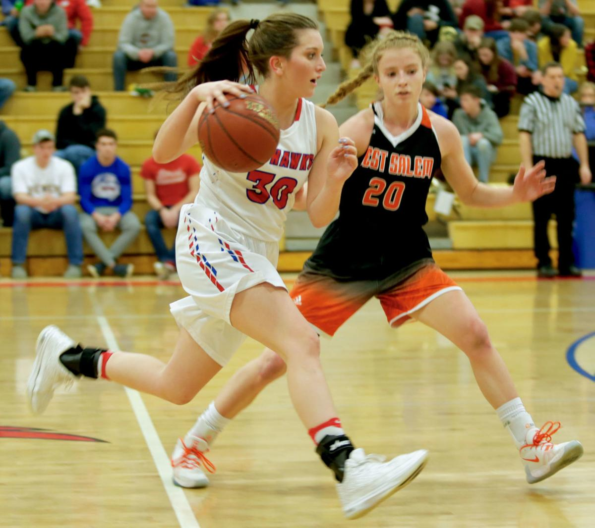 West Salem vs Gale-Ettrick-Trempealeau girl's basketball