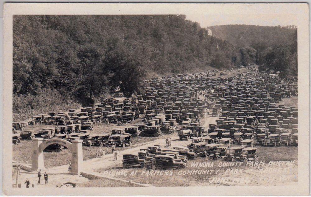 Mob of Model Ts