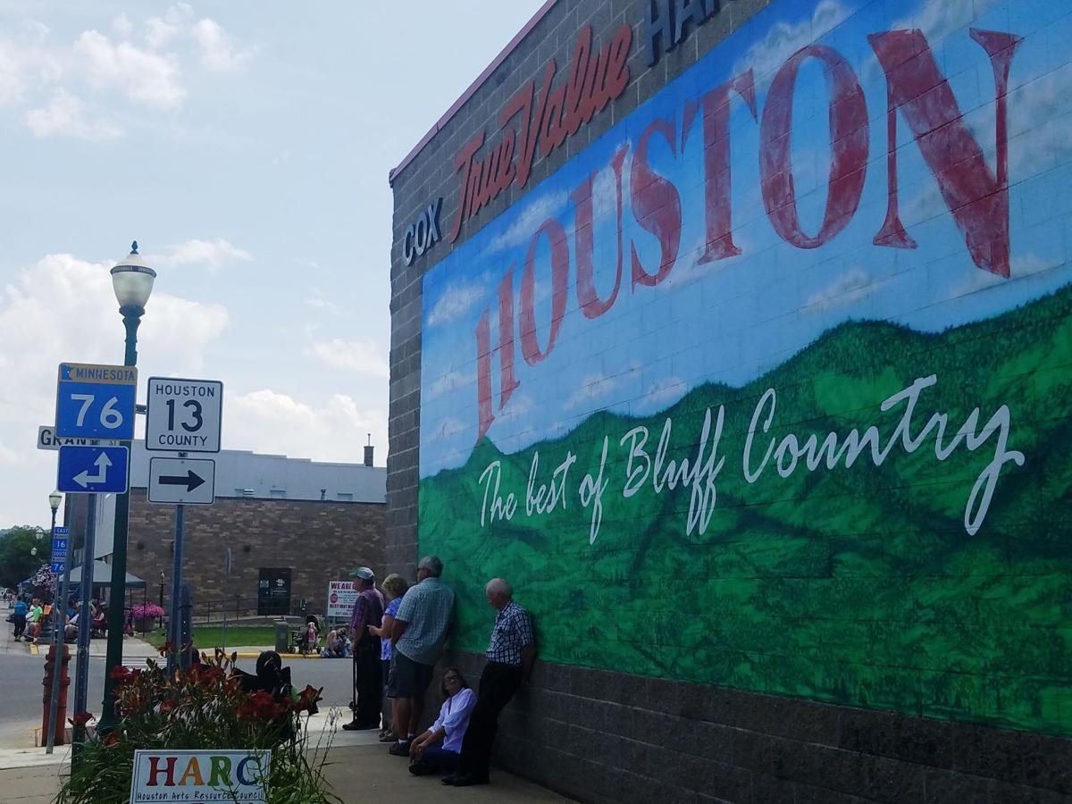 Houston County - Houston Mural