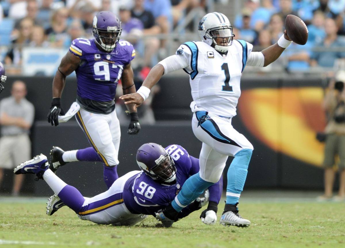 Challenged by coach Vikings Linval Joseph piling up sacks