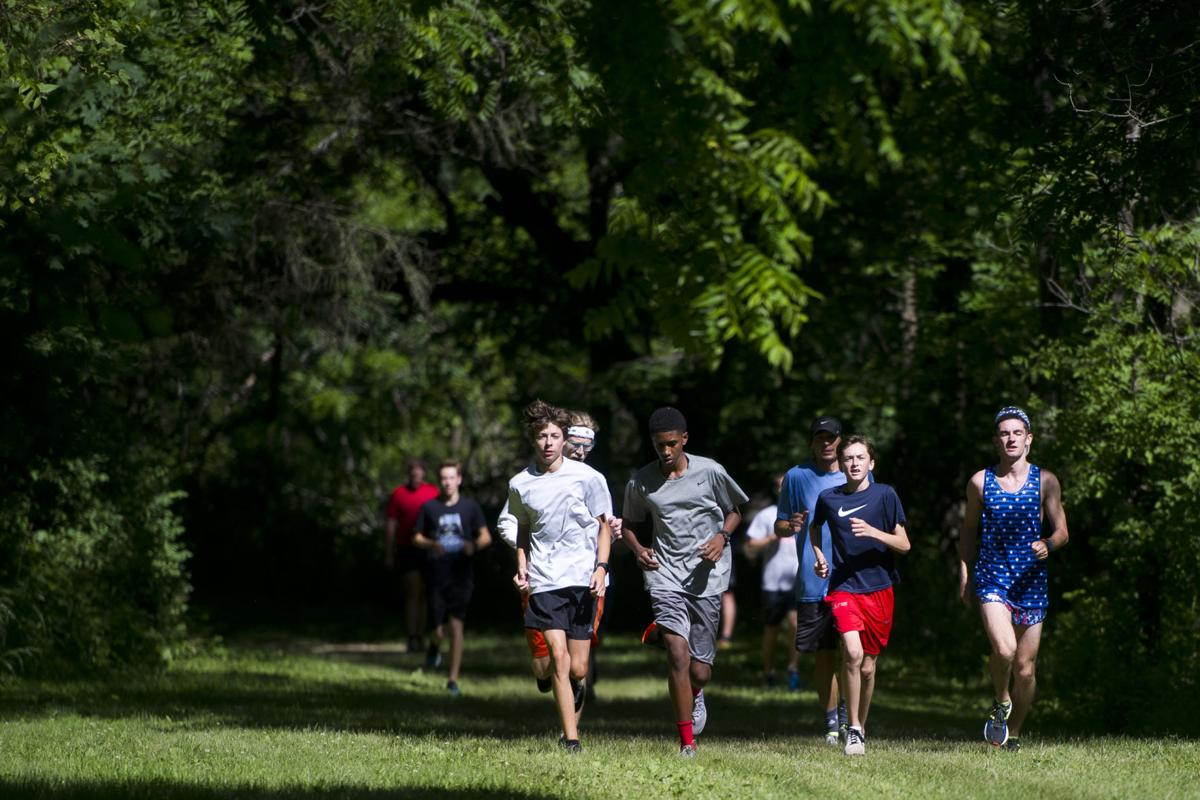 A similar mindset: Project Gold Running Camp brings together