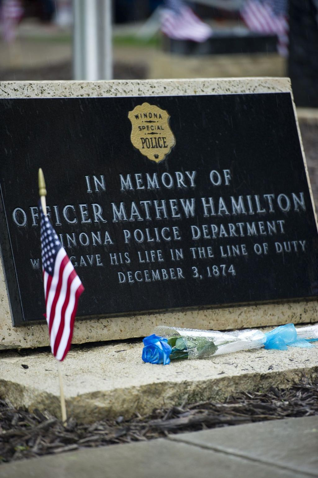 They were our shields': Memorial service honors Winona's fallen