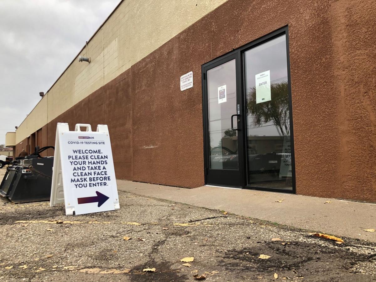 New COVID testing site at Winona Mall