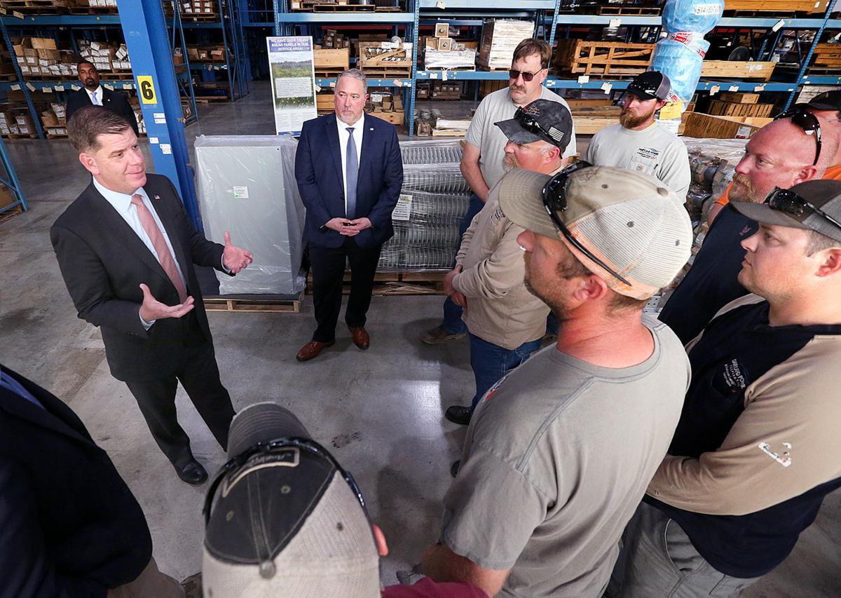 Secretary Walsh visits Dairyland