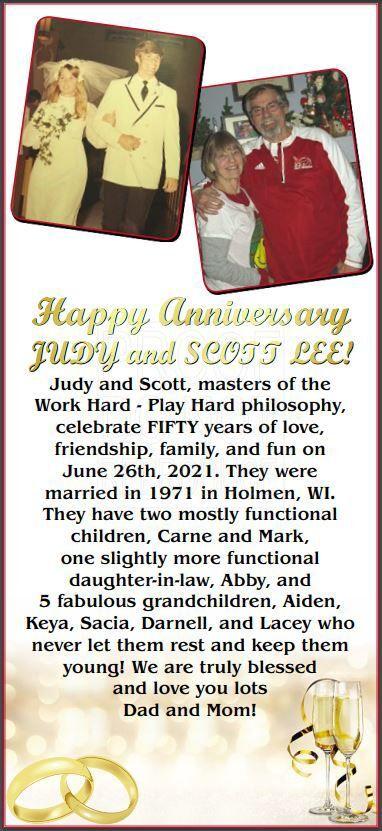 Judy and Scott Lee Anniversary