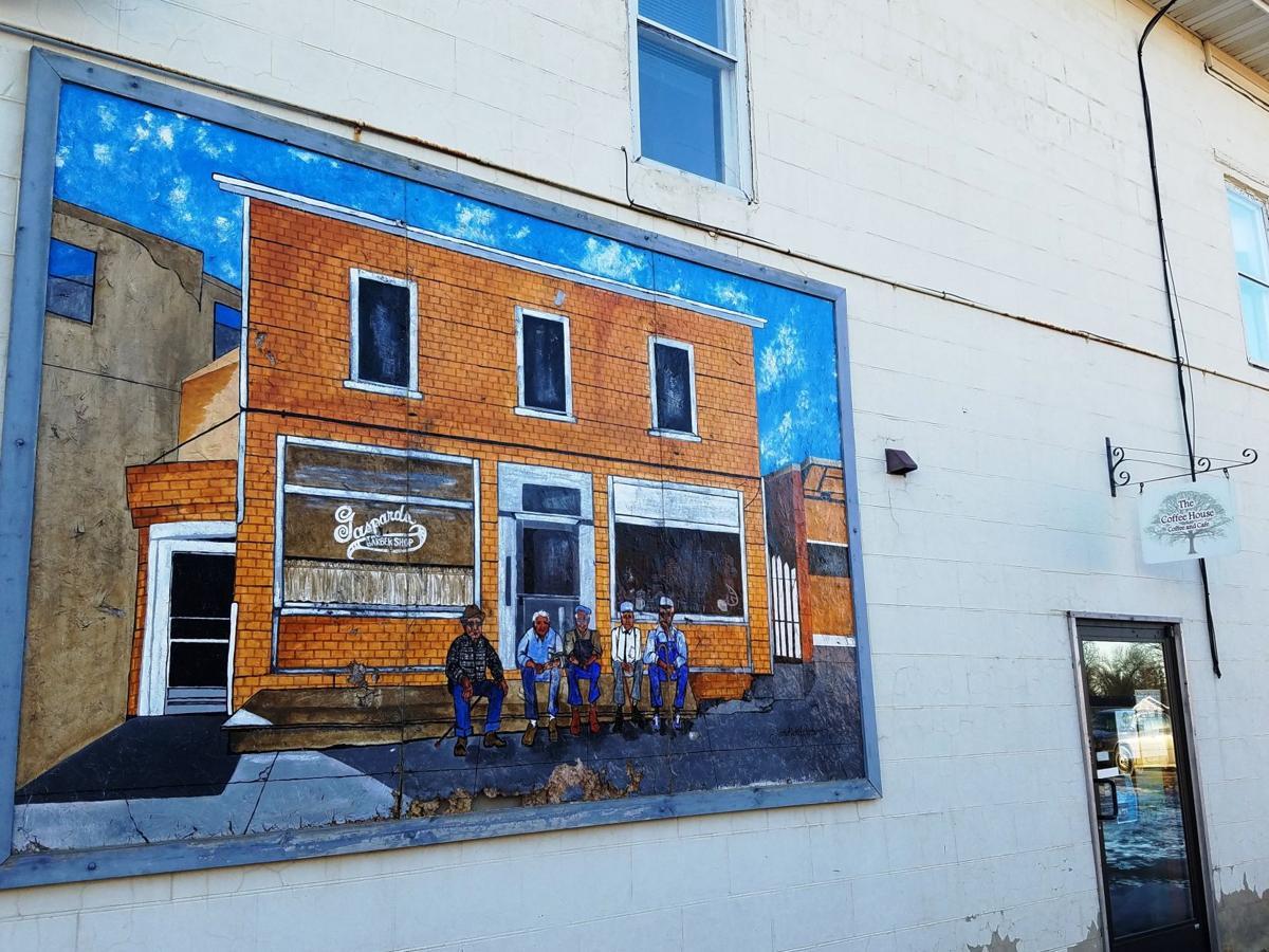 Houston County - Caledonia Mural