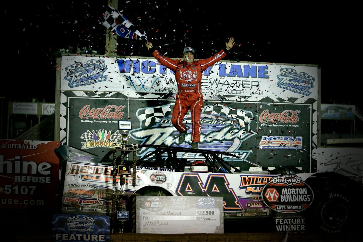 Photos: Mississippi Thunder Speedway's World of Outlaws Dairyland Showdown
