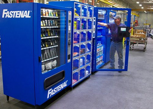 Fastenal From Nuts And Bolts To Stores Vending Machines