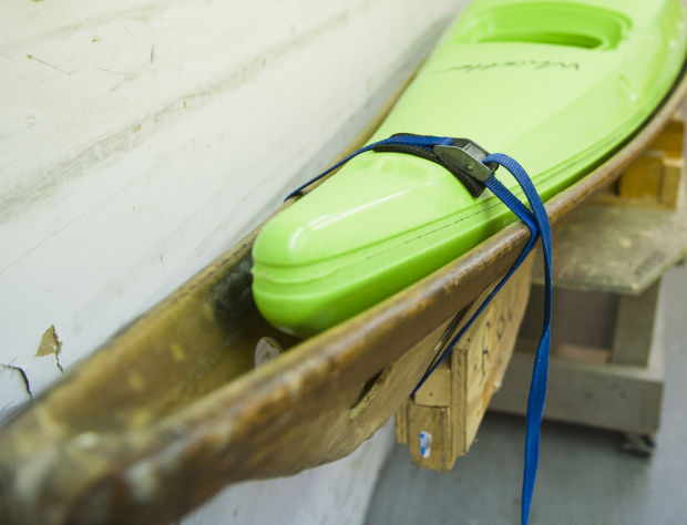 Building adventures: Workers at Wenonah Canoe craft kayaks for
