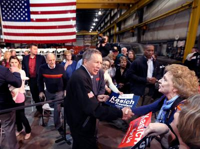 kasich in west salem we need to bring the civilized people of the