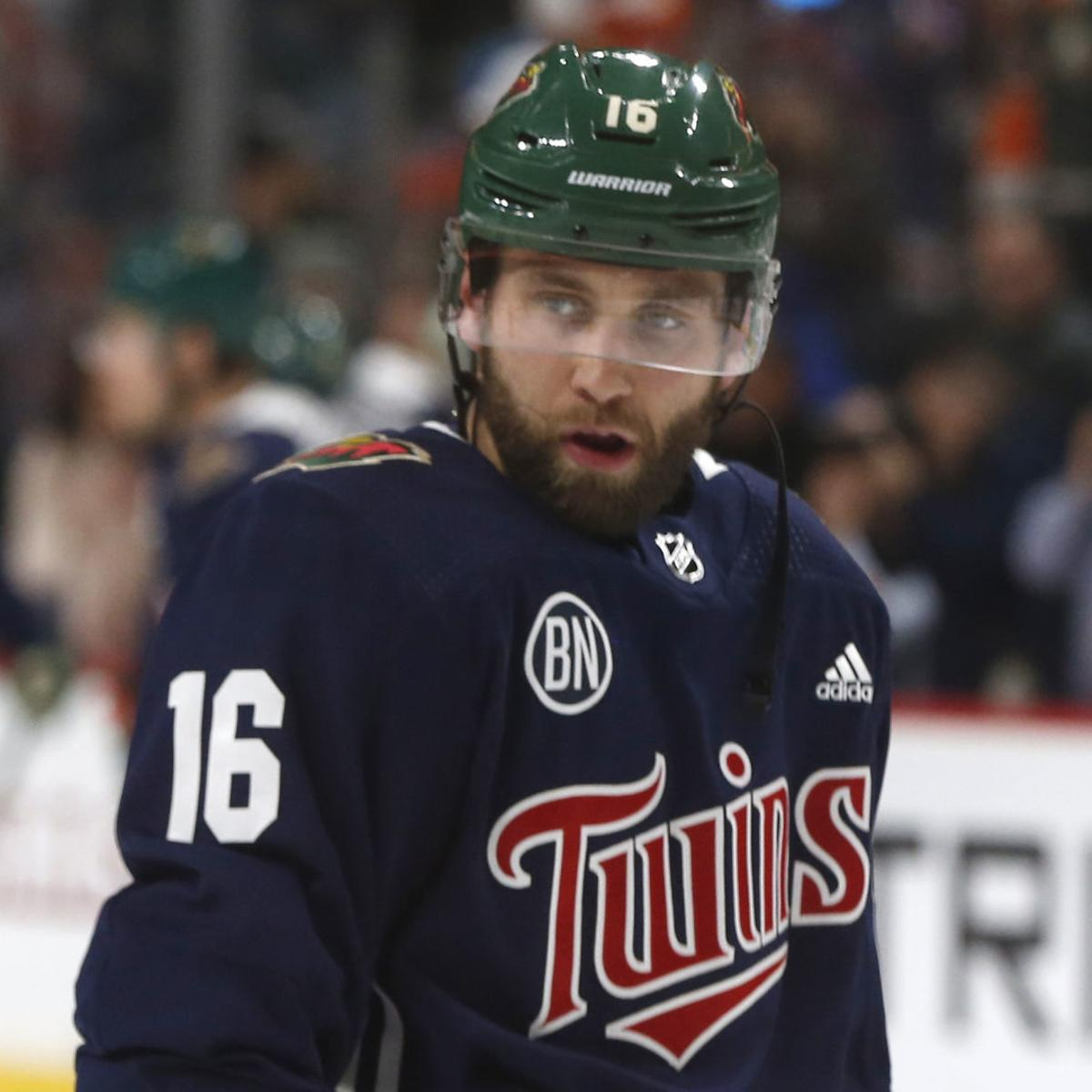 Family Man Mauer Gets Out Of The House To Drop Puck For Wild Game