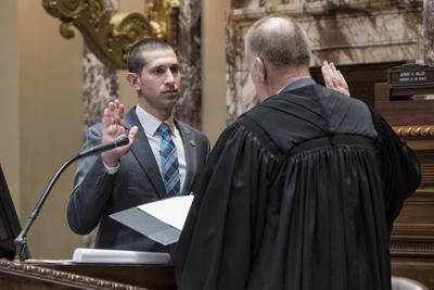 Jeremy Miller sworn in
