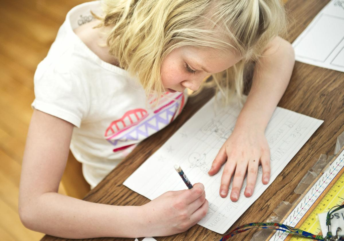 Sharing letters and language: Winona State and Madison Elementary