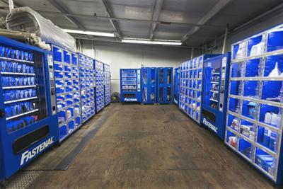 Fastenal vending machines