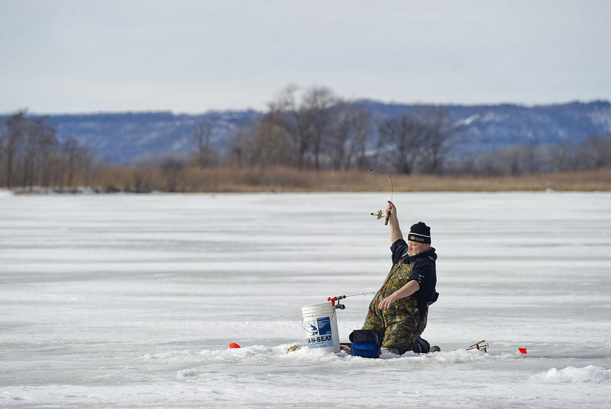 Winter west ice fishing contest gives back to community for Ice fishing extravaganza