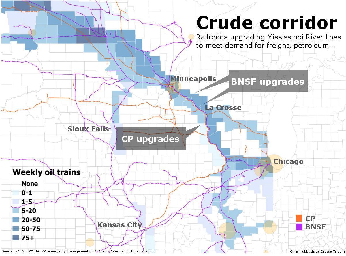 Railroads Expand Capacity On Mississippi Local Winonadailynews Com
