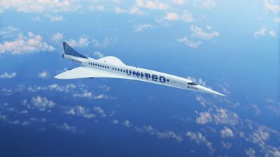 United Airlines plans supersonic flights by 2029