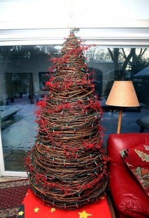 Grapevine Christmas Tree