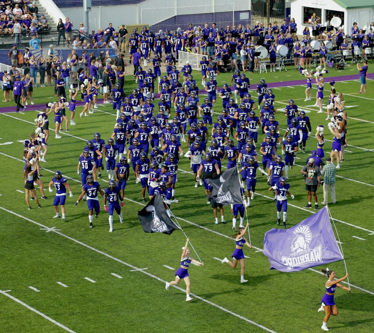Photos: WSU Homecoming vs Northern State