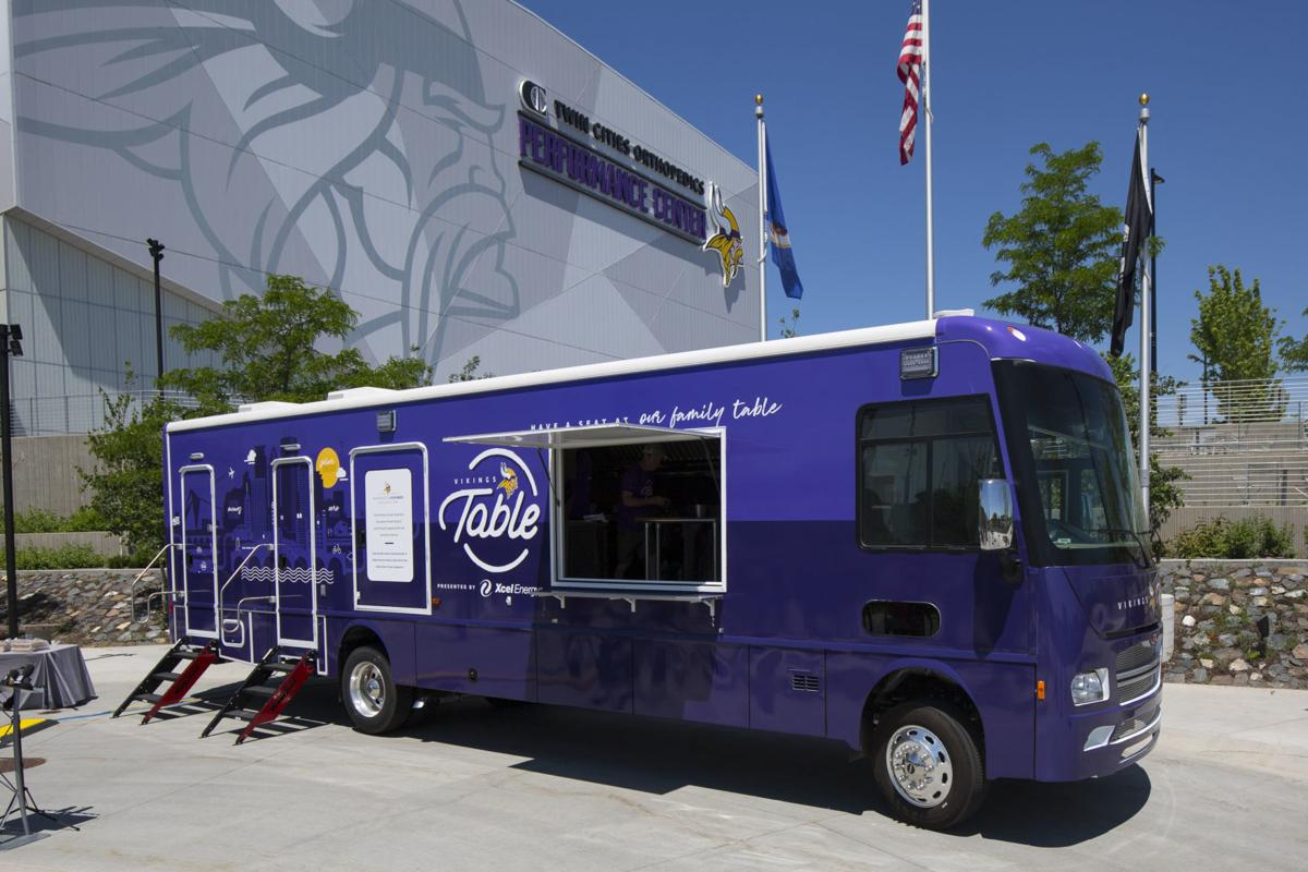 Vikings Food Truck Football