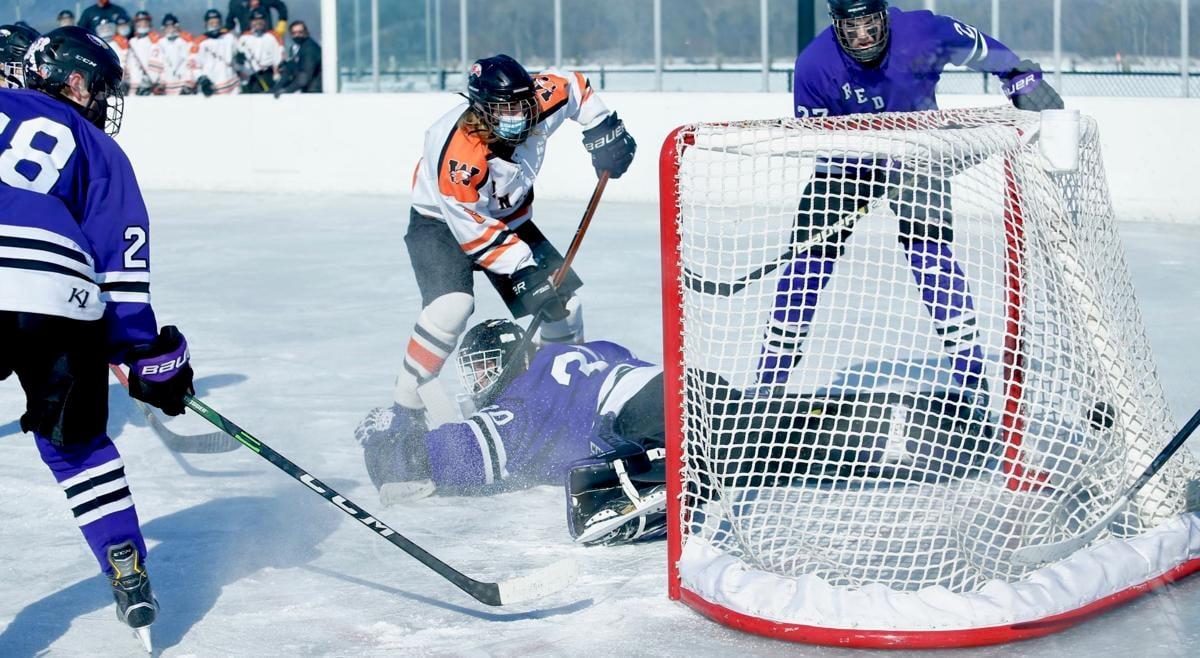 Photos: WSHS Hockey vs Red Wing