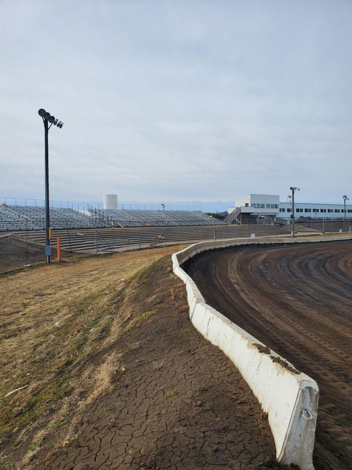 Mississippi Thunder Speedway bleachers