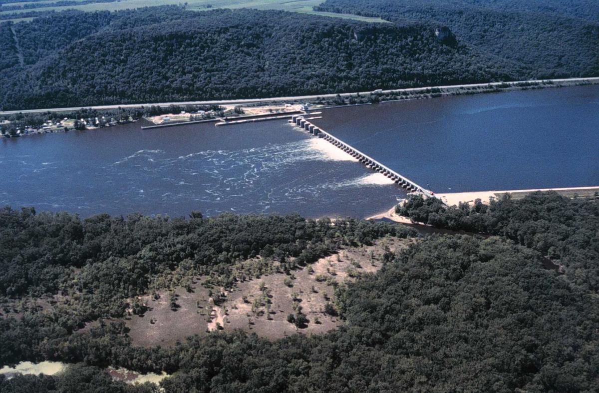 Whitman dam